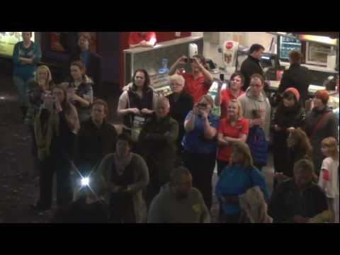 'One Day More' Flashmob | Les Misrables | Newport