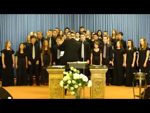 CENTRAL CHRISTIAN SCHOOL CONCERT CHOIR AT THE HEALING MINISTRY CHURCH - 04/11/2011