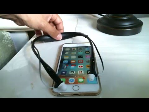 how to connect Motorola Buds Bluetooth to Iphone 6 Plus
