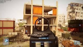 Battlefield 3 Manjaro Linux Wine DXVK Gameplay