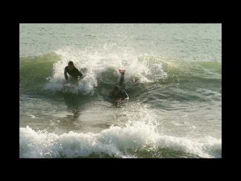 Fotos De Surf Y Bodyboard En Playa Llevant - Barcelona video