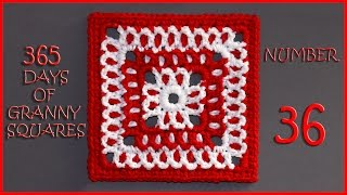 365 Days of Granny Squares Number 36
