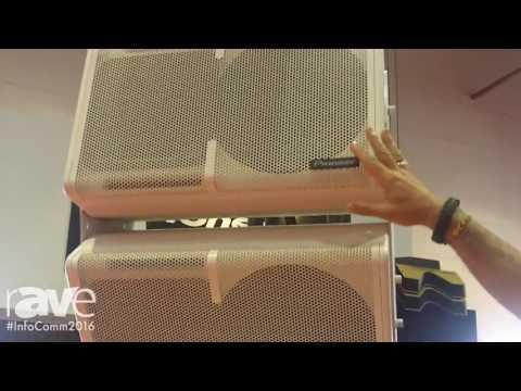 InfoComm 2016: Pioneer Explains XY Series Speakers