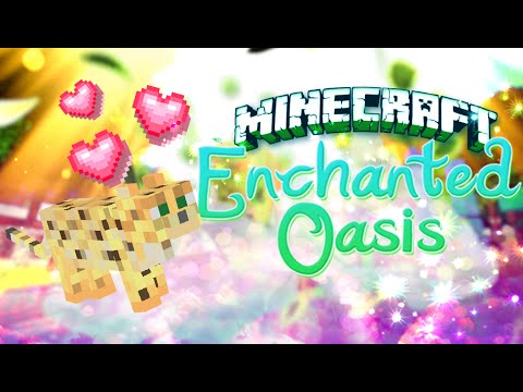 pumpkin Kitty Minecraft: Enchanted Oasis Ep 15  (re-upload) video