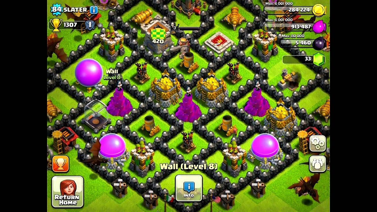 Coc th8 base review 2 ep 13 youtube