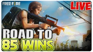 ROAD TO 85 WINS | Free Fire [LIVE#118]