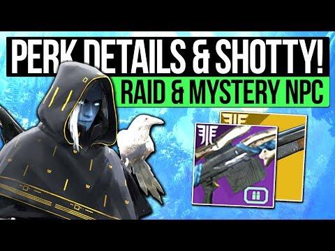 Destiny 2 Forsaken | RANDOM ROLLS & SAWED OFF! Mystery NPC, Weapon Mods, Exotic Quests & Interviews thumbnail