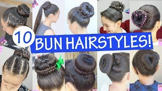 Top 10 Amazing Hairstyles Using a Bun Maker - Beautiful Hairstyles (Compilation 2018)