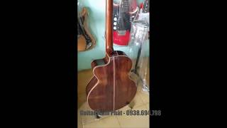 Đàn guitar giá rẻ - Guitar Gỗ Cẩm Lai - Nhạc Cụ Minh Phát