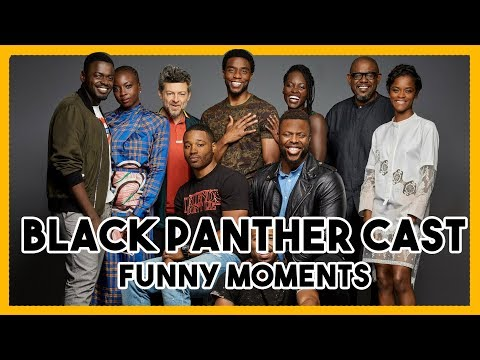Black Panther Cast | Funny Moments 2018