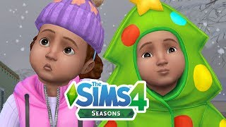 WINTER IS COMING! CREATING A SEASONS FAMILY // The Sims 4: Create A Sim