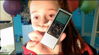 01.How to use: OLYMPUS VN-722PC DIGITAL RECORDER (Tech Vid)