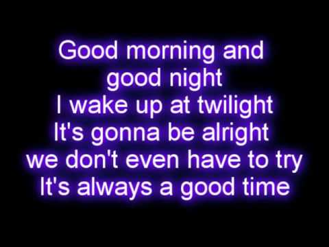 Owl City - Good Time Ft. Carly Rae Jepsen Lyrics video