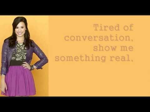 What To Do ~ Demi Lovato Sonny With A Chance Lyrics