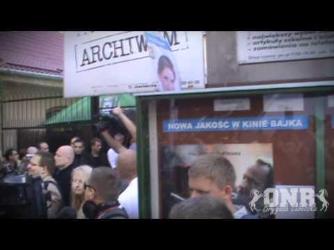 Tusk W Lublinie - Powitanie