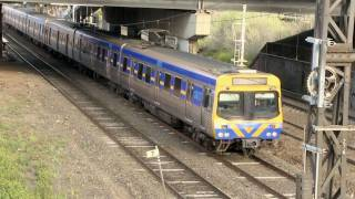 V/Line and Metro Trains Melbourne - Country and Suburban Passenger Trains in Australia - PoathTV