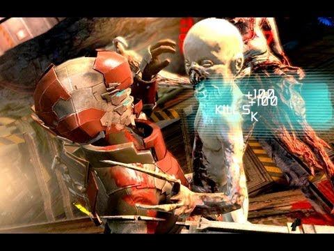 Dead Space 2 Multiplayer Fun Ep 4 Escape!