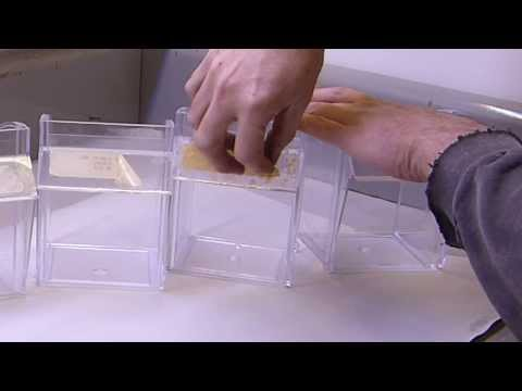 Removing adhesive from acrylic. plastic. and glass without damage.  Fish Tanks. etc.