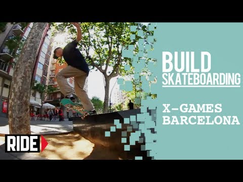 X Games Barcelona 2013 -- Jesus Fernandez in the Streets and P-Rod in the League