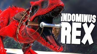 INDOMINUS REX!! - Ark Survival Evolved Modded Ep #45