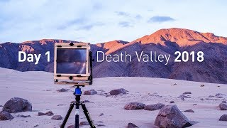 Landscape Photography: Backpacking Death Valley with Large Format Film, Day 1