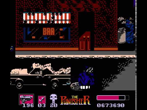 NES Longplay [385] The Punisher