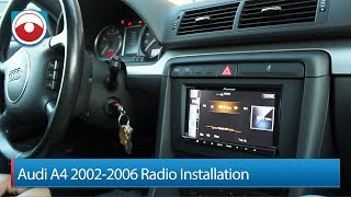Audi A4/S4 02-06 Radio Installation Pioneer AVIC-Z140BH