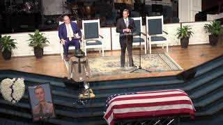 Gov. Bill Lee speaks at Matthew Gatti's funeral