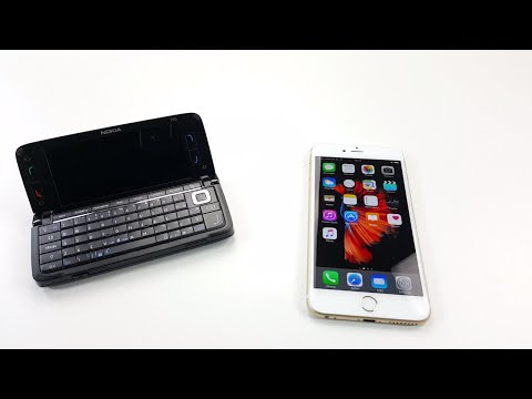 Nokia E90 vs iPhone 6S Plus: Smartphone Evolution