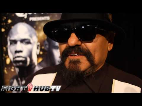 Ruben Guerrero says he takes out Floyd Mayweather Sr in 2 rounds wants charity fight