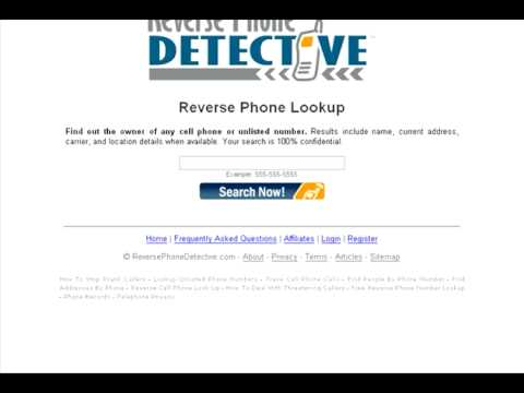 Free reverse cell phone number lookup catch prank callers with
