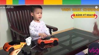 RC Kids Car toys , Em bé chơi xe oto Bentley điều khiển từ xa [ VSA BOX ]