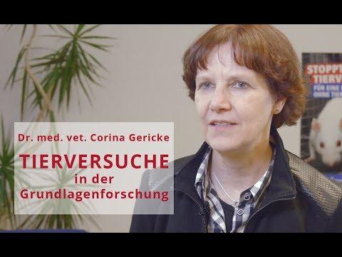 Dr. Corina Gericke: TIERVERSUCHE in der Grundlagenforschung