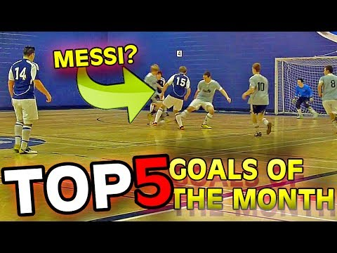 Top 5 Goals Of The Month #01 | 2014 video