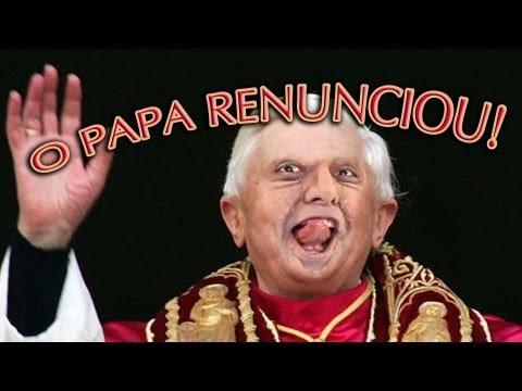 O PAPA RENUNCIOU! - Paródia MACKLEMORE & RYAN LEWIS | THRIFT SHOP