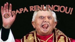 O PAPA RENUNCIOU! - Paródia MACKLEMORE & RYAN LEWIS   THRIFT SHOP
