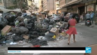 LEBANON - Mountains of garbage prevent residents from breathing