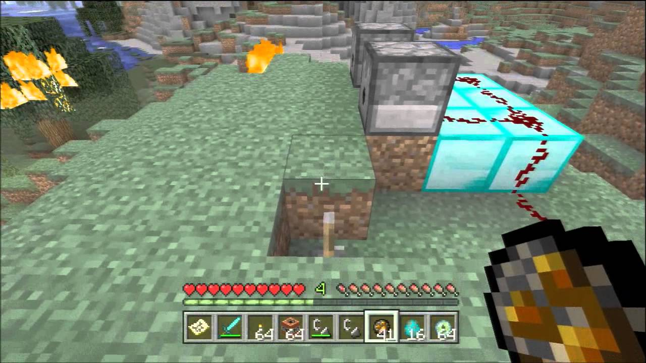 minecraft how to get fire charge
