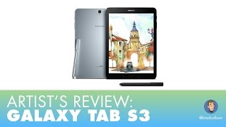 Review: Galaxy Tab S3 - An Artists Take