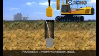 Construction Piles foundation machinery - Cliver Arandia - SINOPEC INTERNATIONAL PETROLEUM SERVICE