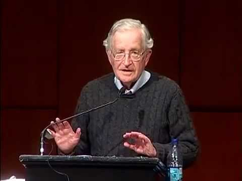 Noam Chomsky - US  Israeli Crimes Against Palestine (FULL)