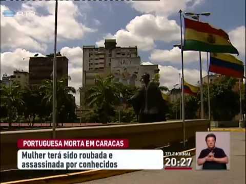 Portuguesa assassinada num hotel em Caracas na Venezuela