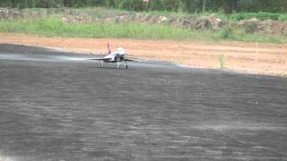 Rc Chiangrai Thailand, FF Euro Fighter / Typhoon(Foam) with Jet Cat P20 at Rimchron RC Club
