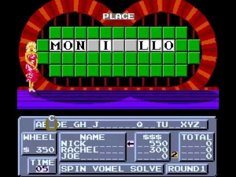 Wheel of Fortune - Playthrough - User video