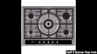 Neff 5 Burner Gas Hob