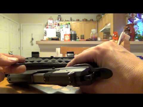 How To Field Strip The CZ 97B