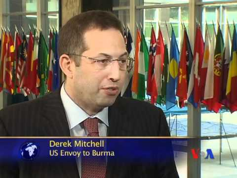 VOA Burmese Interviews Derek Mitchell, US Envoy to Burma
