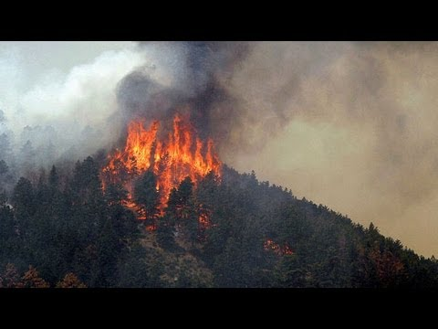 Colorado Springs Waldo Canyon wildfire forces thousands to flee ...