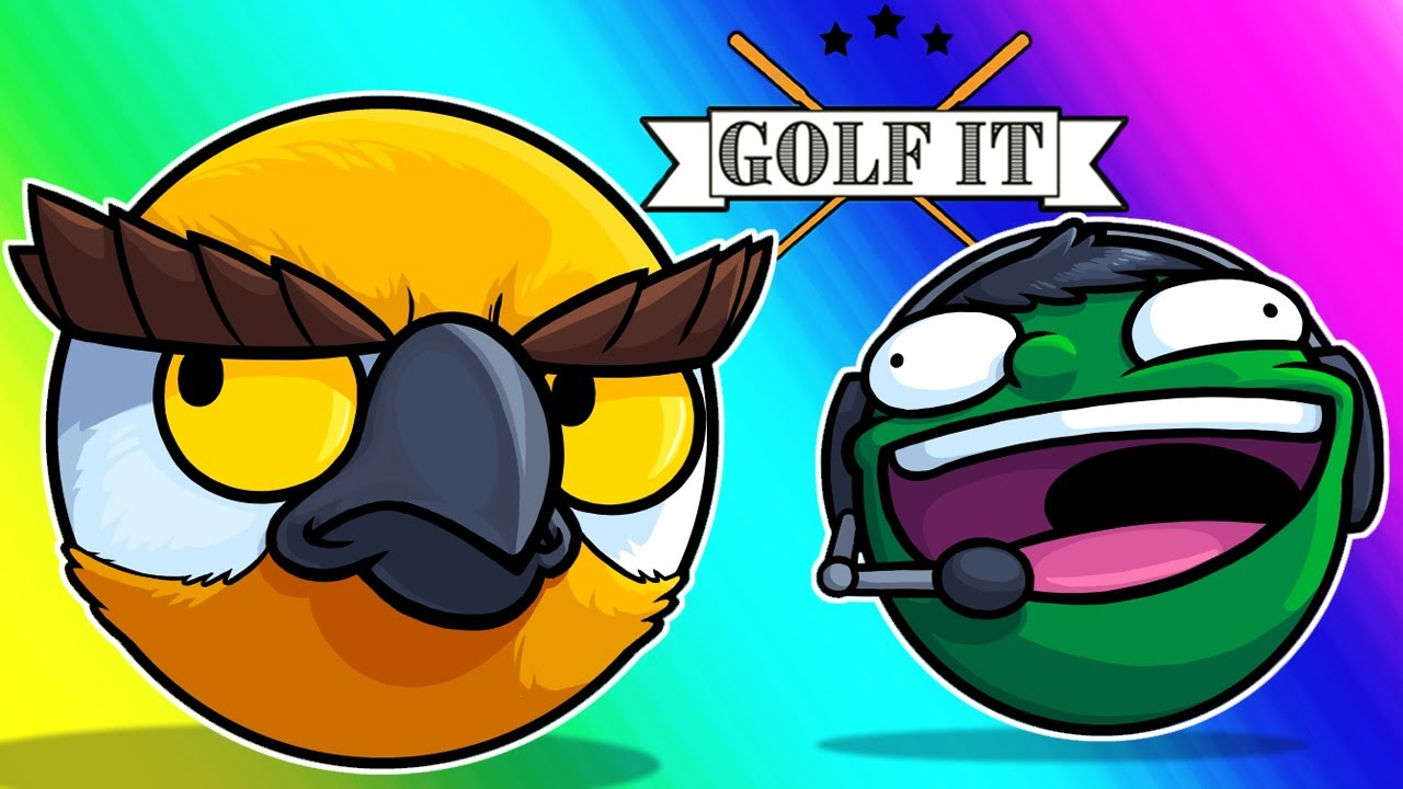 Golf-it Funny Moments - The Closest to Angry Vanoss Will Get