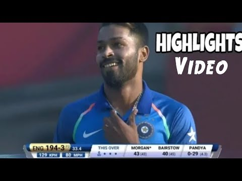 Ind vs Eng 3rd ODI highlights 2018 full Match || Ind vs Eng 3rd ODI match highlights 2018
